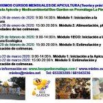 PRÓXIMAS FECHAS: CURSOS DE APICULTURA 2020 BEE GARDEN MÁLAGA