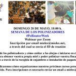 Webinar Semana de los Polinizadores
