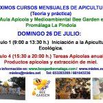 Cursos de Apicultura Julio 2020