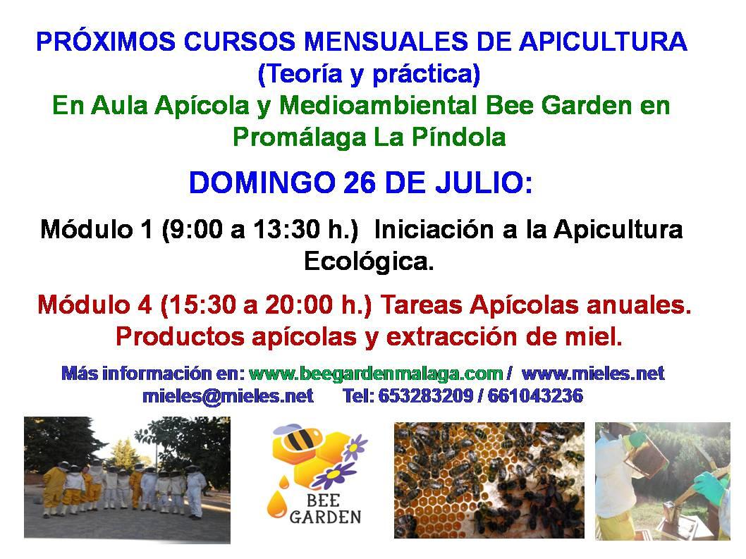 Curso Apicultura Julio 2020