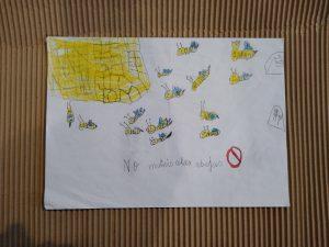 Tercer Premio Concurso de Dibujo Escolar Bee Garden Málaga 2021